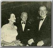 Maureen O'Sullivan, John Farrow, and good Friend John Wayne