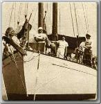 John Farrow abd Maureen O'Sullivan loved days out on the water